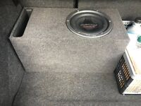 """10"""" Pioneer TS-W2501D4 800 RMS / 2500 watts in a Ported Box 33hz LOUD £100"""