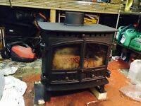 Hunter wood burning stove