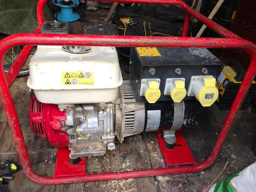 Honda gx 270 generator looking at £225 nearest offer
