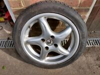 4 No. FOX Alloy Wheels - 15 X 6 1/2J (Vauxhall Nova, Corsa, Astra, Cavalier)