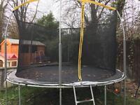 REDUCED 12ft sport power trampoline