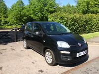 FIAT PANDA 2014 BLACK 11300 MILES ONLY , CAT D ONE YEAR MOT IMMACULATE CONDITION