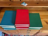 Caxton books, full set