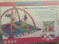 Like new Play mat and baby gym