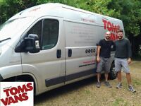 Brighton Man with a Van, Tom's Vans is Brighton's friendliest Man and Van Removals Since 2010