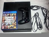 Playstation 4 500GB + GTA V