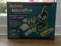 Micro Pro Microscope opened once never used will listen to offers