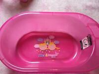 Pink Baby Bath