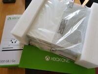 xbox one s new with 2 years warranty