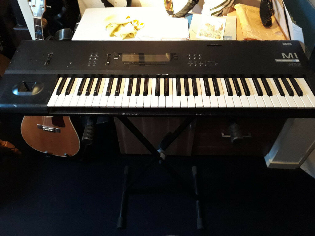 Korg M1 Workstation Synthesiser Keyboard (new battery) with Stand | in  Aberdeen | Gumtree