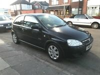 Vauxhall corsa sxi plus half leather full service history 10 months mot