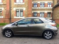 Honda Civic 5 Dr , Low Mileage , Mittalic Golden Grey , Great Condition , Quick Sale £1895