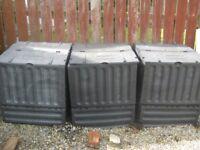 Composter Bins Eco King 600L Black