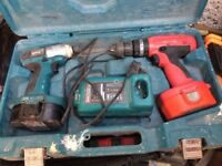 Makita impact drill and drill/driver