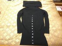 Robe et/ou chandail long noire de marque Véro Moda grandeur S