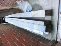 Steel RSJ I-Beams, 7 in total