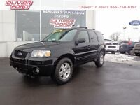 Ford Escape limited+awd+cuir+toit+a/c 2006