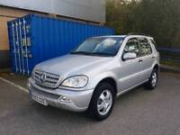 2004 Mercedes ML270 Cdi Automatic Diesel 115,000 Full Leather Interior