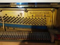 Bechstein Upright Piano Berlin made 1901