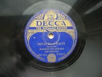 """List of Mantovani & His Orchestra 10"""" 78s (£1.50 each)"""