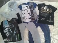 Brand New Star Wars T-shirt Age 5-6 RRP £11 + T-shirt + jogger bundle