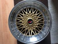 "BBS RS style brand new Alloy wheels 17"" inch x 8.5j 4x100 5x100 Del Sol honda v40 s40 alloys wheel"