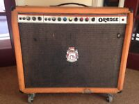 120W Orange Twin Combo Amp