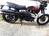 Triumph Scrambler for sale £5500
