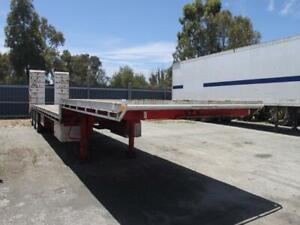 2018 WESE 48ft Drop Deck With Ramps,  Stock 1266 Kenwick Gosnells Area Preview
