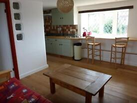1 bedroom flat on smallholding, fully furnished and equipped with all necessary household items
