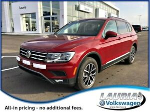 2018 Volkswagen Tiguan 2.0T Comfotline 4Motion AWD *DEMO*
