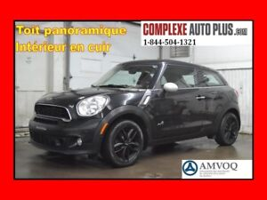 2014 Mini Cooper Paceman S ALL4 AWD *Full Cuir, Toit panoramique
