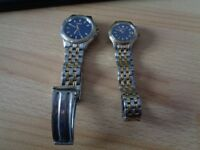 Pair of Seiko Ladies and Gents Watches