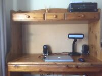 Ducal, solid pine workstation