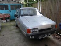 reliant robin mot aug 55000 miles