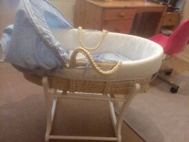 Moses basket & rocker