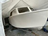20' River Cruiser Project Boat with Trailer