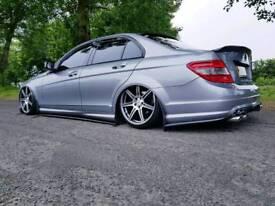 Mercedes C-Class **Air suspension**