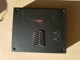 KICKER KX200.2 2 channel 170watts RMS