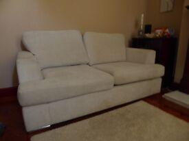 Luxury Handmade Belgian Sofa Bed In Excellent Condition