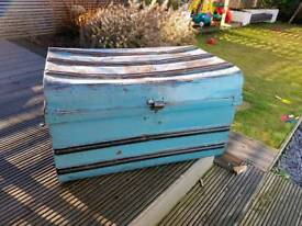 Vintage trunk for sale, toy chest, storage