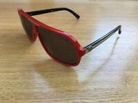 Von zipper sunglasses red and black