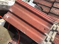 Redland 49 roofing tiles approx 1000