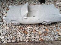 Large Sports Car Planter concrete Garden Statue