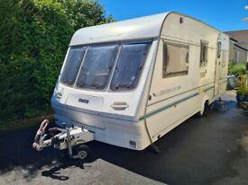Luna Highstyle 4 Berth Caravan, 1997