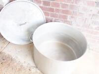 Aluminium Cooking Saucepan Stock Stew Soup Casserole Catering Pan Pot