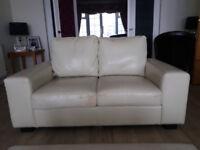 Sofas x 2 FREE! Plus brown tub chair