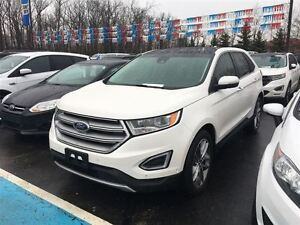 2016 Ford Edge Titanium, NOT A RENTAL, ONE OWNER, FACTORY CERTIF