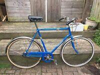 Vintage retro mens triumph town bike bicycle original restored