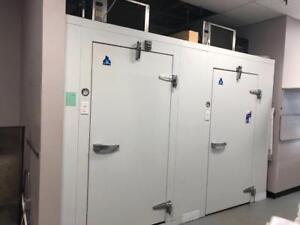 Immaculate 6x12 Walk-In Cooler Freezer Combo (Self-Contained)